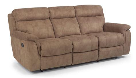 a w upholstery flexsteel living room fabric reclining sofa 1425 62 a