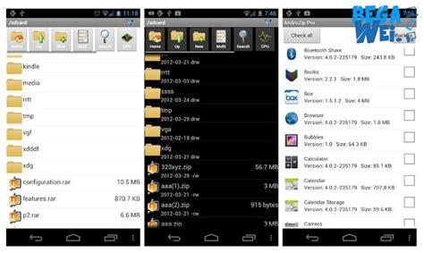 zip android cara membuka file rar dan zip di android begawei