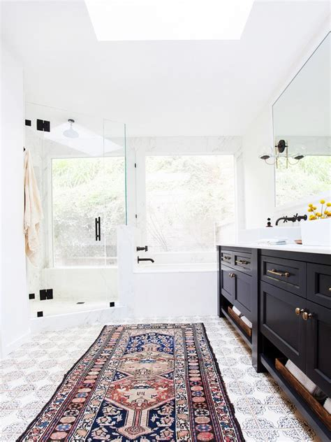 Design Your Bathroom by Persian Rugs For Your Bathroom Design