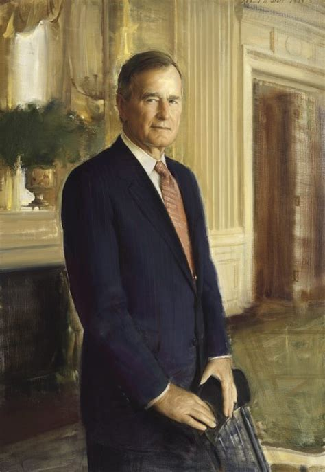 biography of george washington bush a look at the national portrait gallery s presidential