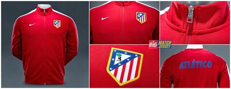 jaket atletico madrid n98 red 2014 2015 big match jaket atletico madrid n98 red 2014 2015 big match