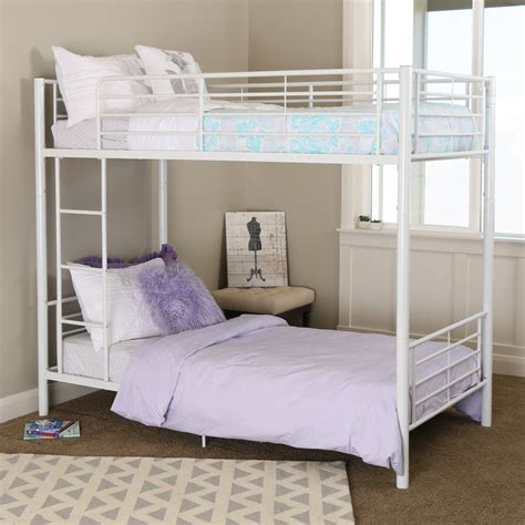 Bunk Bed Free Shipping Bunk Bed White By Walker Edison