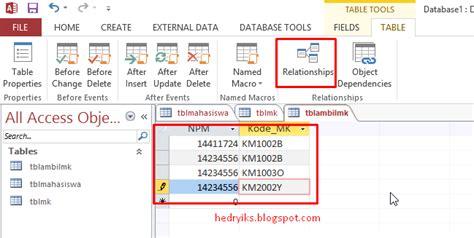 cara membuat database dengan microsoft excel 2013 cara mudah membuat database dengan microsoft access 2013