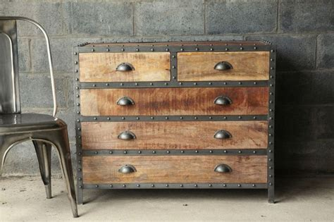 beautiful wood antique dresser and nightstand set with restoration hardware style industrial chic wood dresser beautiful industrial and metals