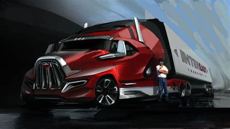 concept semi truck future truck