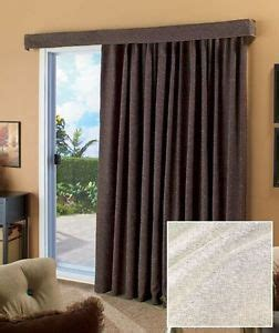 large door curtains ivory 140 lose the louvers patio curtain large sliding