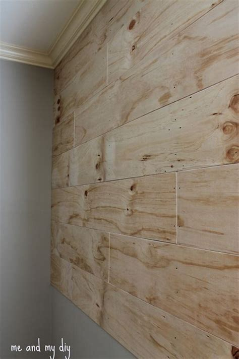 bedroom progress accent wall plywood walls wood