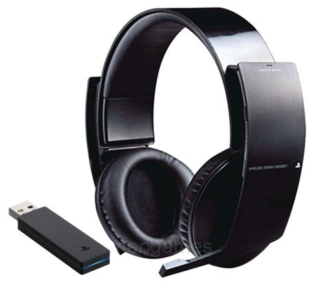 Headset Sony Gaming new genuine sony official ps3 wireless stereo gaming headset for playstation3 711719808503 ebay