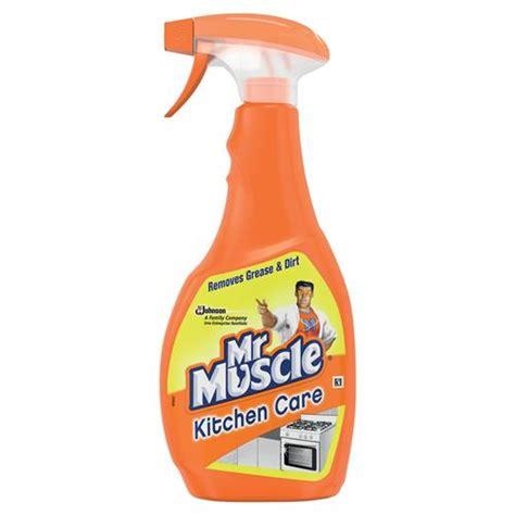 buy mr muscle kitchen cleaner lemon trigger spray for all