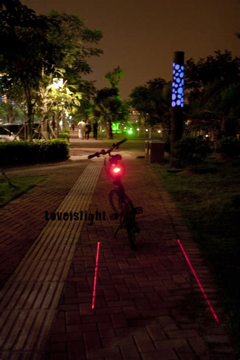 led laser bike tail light christmas gifts photo