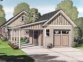 garage plans with attached carport at familyhomeplans com plan 012g 0047 garage plans and garage blue prints from