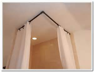 Half Bath Shower half bath shower curtain rod pictures to pin on pinterest pinsdaddy