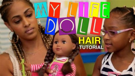 Doll Hairstyles My by My Doll Hairstyles And Me Doll Hair Tutorial