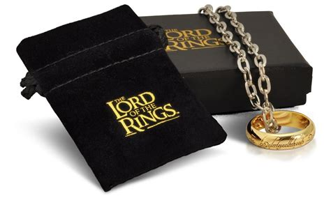 the lord of the rings ring the one ring replica gold