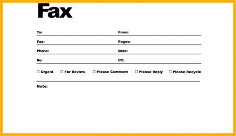 basic fax cover sheet pdf targer golden dragon co