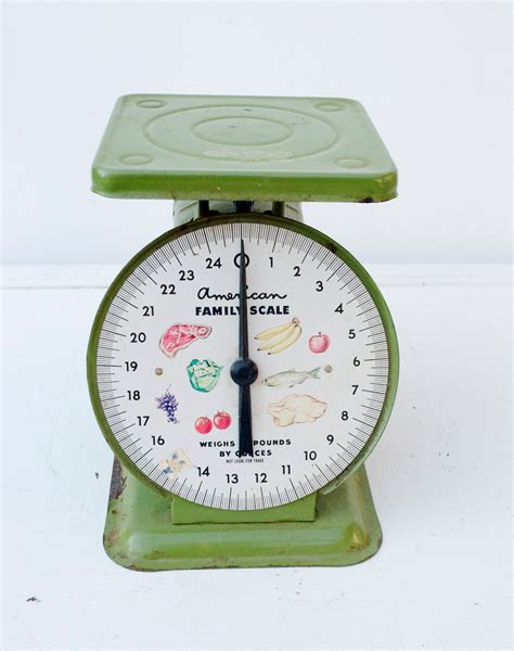 green kitchen scales vintage green american family kitchen scale by