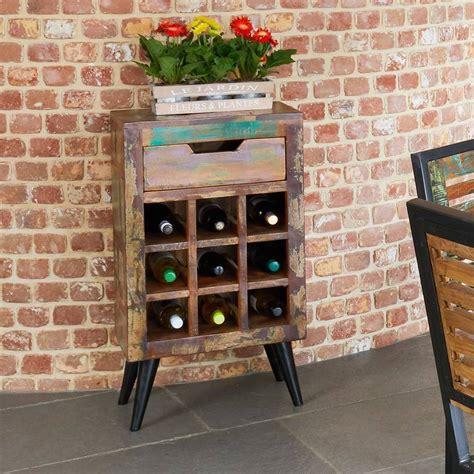 wine rack table with drawer dunes wine storage rack side table with drawer by the