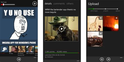 upload memes photos and more to imgur with imgura for