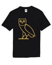ovo octobers very own black t shirt drake swag ymcmb gold