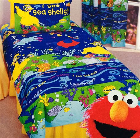 Sesame Street Quilt Cover Set Sesame Street Bedding Elmo Bedding Set