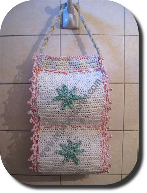 porta rollo para cocina a crochet porta rollo papel higienico en tejido crochet crochet
