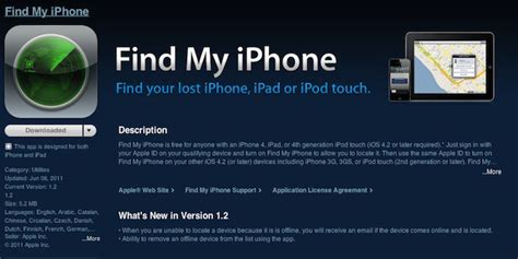apple updates find  iphone improves offline device