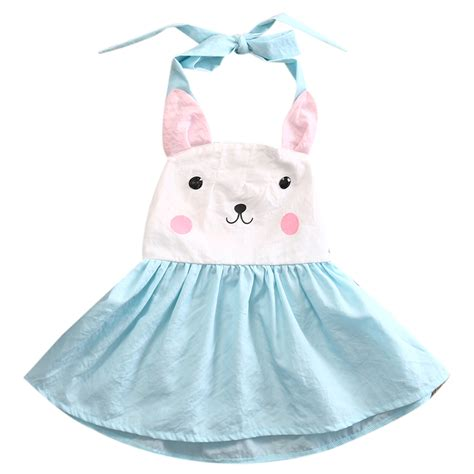 toddler dresses toddler baby dress bunny print backless