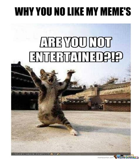 Why You Meme - why you no like by mr scarface787 meme center