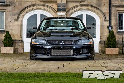 Modified Mitsubishi Evo Ix Fq360 Fast Car