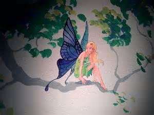 Fairy Wall Mural Fairy Mural By Cheshfire On Deviantart