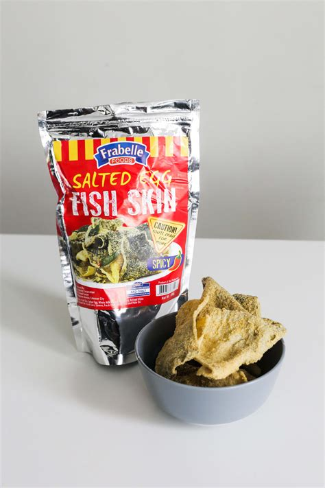 Irvin Salted Egg Fish Skin a seafood company just made salted egg fish skin available