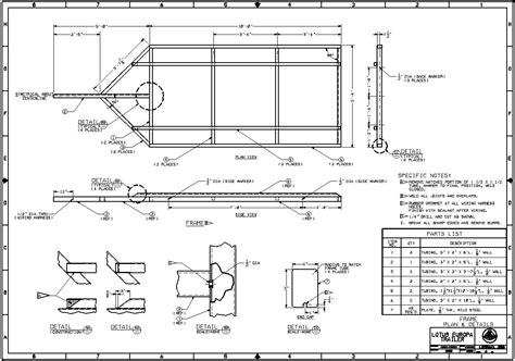 free building plans free trailer plans homedesignpictures