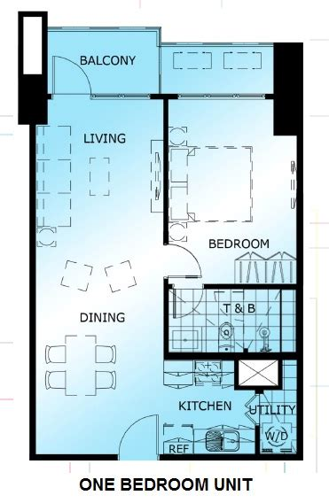 1 bedroom unit two maridien alveo properties