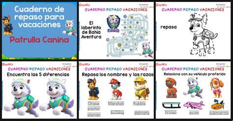vacaciones infantil 4 aos cuaderno de repaso para vacaciones diferentes n 237 veles imagenes educativas