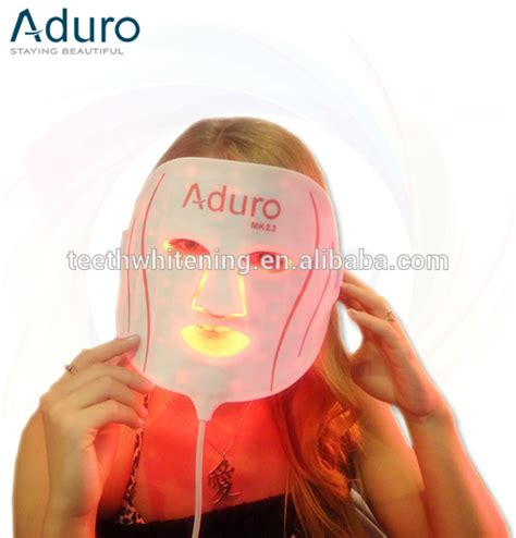 red light therapy mask aduro red light therapy mask view led mask golden