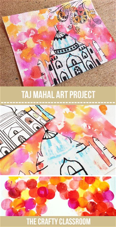 india crafts for taj mahal project