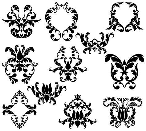 damask pattern brush damask elements photoshop brushes brushes on creative market