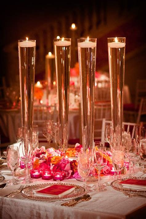 water vase centerpieces flute candle holders things dining for and museums