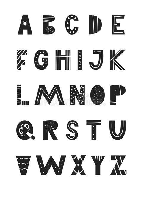 Alphabet Latin Avec La Copie Animale Illustration de