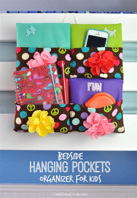 Bedside Hanging Pocket bedside hanging pockets organizer diy