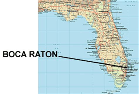 boca raton map boca raton travel guide
