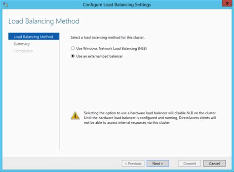 how to uninstall nlb migrating directaccess from nlb to kemp loadmaster load