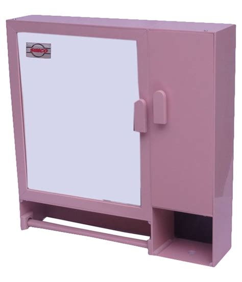 Pink Bathroom Storage Buy Simco Industries Pink Bathroom Cabinet At Low Price In India Snapdeal