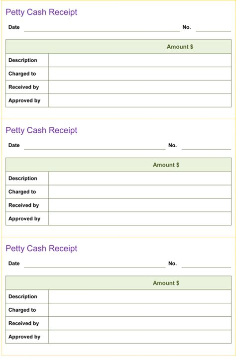 excel receipt template a free receipt template for word or excel