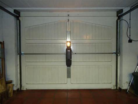 montage porte garage basculante motorisation pour portes de garage