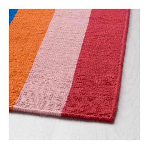 Ikea Halved Rug | halved rug flatwoven handmade multicolour 170x240 cm ikea