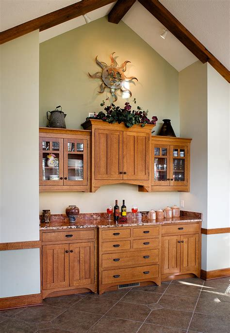 Dining Room Cabinetry Mullet Cabinet Arts Crafts Dining Room