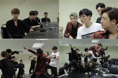 exo dancing king exo dan yoo jae suk seru seruan di video teaser dancing
