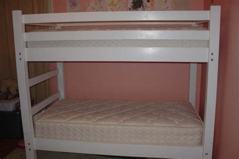 bunk bed plans free simple woodworking plans
