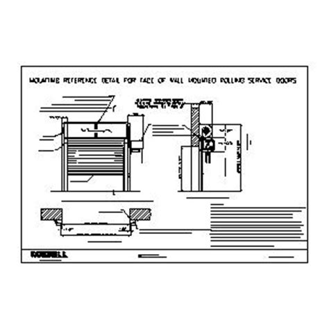 Overhead Door Cad Details Overhead Coiling Door Overhead Free Engine Image For User Manual